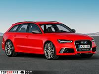 2016 Audi RS6 Avant Performance = 305 kph, 605 bhp, 3.7 sec.