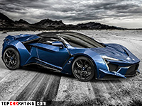 2016 W Motors Fenyr SuperSport = 400 kph, 900 bhp, 2.7 sec.