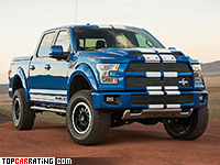 2016 Ford Shelby F-150 = 240 kph, 710 bhp, 5.5 sec.