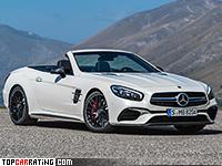 2016 Mercedes-AMG SL 63 = 300 kph, 585 bhp, 4.1 sec.