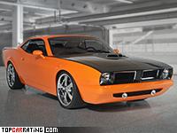 2008 Dodge Concept 'Cuda = 270 kph, 425 bhp, 4.7 sec.