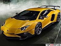 2016 Lamborghini Aventador LP750-4 SuperVeloce Novitec Torado = 355 kph, 786 bhp, 2.7 sec.