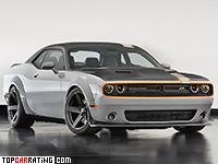 2015 Dodge Challenger GT AWD Concept Mopar = 300 kph, 515 bhp, 4.4 sec.