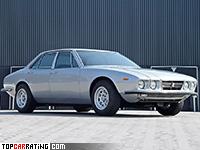 1971 De Tomaso Deauville = 240 kph, 296 bhp, 7 sec.