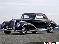 1955 Mercedes-Benz 300 SC Coupe = 176 kph, 175 bhp, 11.1 sec.