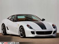 2010 Ferrari 599 Novitec Rosso RACE 848 = 345 kph, 848 bhp, 3.4 sec.