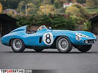 1955 Ferrari 500 Mondial = 235 kph, 172 bhp, 6.8 sec.