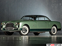 1953 Chrysler Special Coupe GS-1 by Ghia = 170 kph, 180 bhp, 14 sec.