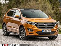 2016 Ford Edge Sport = 220 kph, 315 bhp, 6.7 sec.