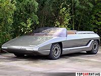 1980 Lamborghini Athon Bertone Concept = 260 kph, 256 bhp, 6.2 sec.