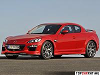 2008 Mazda RX-8 R3 = 244 kph, 250 bhp, 6 sec.