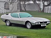 1967 Jaguar Pirana Bertone Concept = 235 kph, 265 bhp, 7.1 sec.