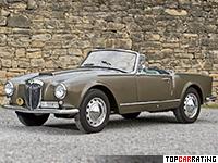 1956 Lancia Aurelia GT 2500 Convertible (B24S) = 169 kph, 110 bhp, 13.6 sec.