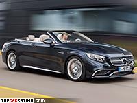 2017 Mercedes-AMG S 65 Cabriolet = 250 kph, 630 bhp, 4.1 sec.