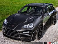 2009 Porsche Cayenne Mansory Chopster Limited Edition = 302 kph, 710 bhp, 4.4 sec.