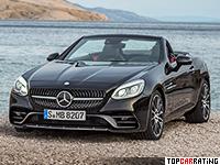 2016 Mercedes-AMG SLC 43 = 280 kph, 367 bhp, 4.5 sec.