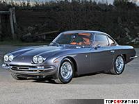 1966 Lamborghini 400 GT 2+2 = 260 kph, 324 bhp, 6.8 sec.