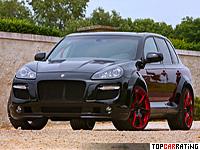 2010 Porsche Cayenne Enco Gladiator 700  GT Biturbo = 290 kph, 690 bhp, 4.5 sec.