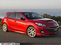 2009 Mazda 3 MPS = 250 kph, 260 bhp, 6 sec.