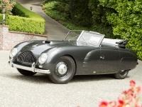1949 Supercars Veritas Scorpion Spohn Cabriolet = 170 kph, 100 bhp, 11 sec.