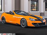 2010 Mercedes-Benz SLR McLaren Roadster MSO Edition 722S = 355 kph, 750 bhp, 3 sec.