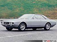1969 Lancia Flaminia Marica = 193 kph, 148 bhp, 9.8 sec.