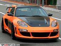 2008 Porsche 911 Turbo Gemballa Avalanche GTR 800 EVO-R = 335 kph, 850 bhp, 3.1 sec.