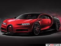 2018 Bugatti Chiron Sport = 420 kph, 1500 bhp, 2.5 sec.