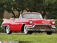 1957 Cadillac Eldorado Biarritz = 192 kph, 325 bhp, 11.5 sec.