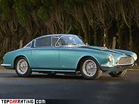 1953 Fiat 8V Vignale Coupe = 186 kph, 112 bhp, 11.1 sec.
