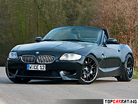 2010 BMW Z4 Manhart Racing V10 = 250 kph, 550 bhp, 3.9 sec.