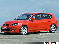2006 Mazda 3 MPS = 250 kph, 260 bhp, 6.1 sec.