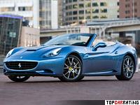 2009 Ferrari California = 310 kph, 454 bhp, 4.1 sec.