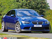 2010 BMW M3 Manhart Racing V10 = 335 kph, 550 bhp, 3.9 sec.