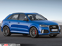 2017 Audi RS Q3 Performance = 270 kph, 367 bhp, 4.4 sec.