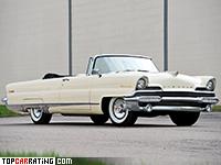 1956 Lincoln Premiere Convertible = 181 kph, 279 bhp, 11.2 sec.