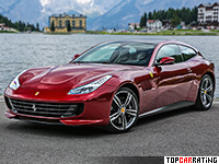 2017 Ferrari GTC4 Lusso = 335 kph, 690 bhp, 3.4 sec.