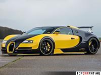 2016 Bugatti Veyron 16.4 Oakley Design = 410 kph, 1145 bhp, 2.5 sec.
