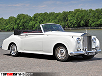 Rolls-Royce Silver Cloud Drophead Coupe Mulliner  RWD 1959