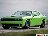 Dodge Challenger Hellcat Hennessey HPE1000 Twin Turbo  RWD 2016
