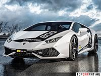 2016 Lamborghini Huracan O.CT Tuning O.CT800 Supercharged = 325 kph, 805 bhp, 2.5 sec.