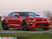2016 Chevrolet Camaro SS Hennessey HPE1000 Supercharged = 345 kph, 1013 bhp, 3.2 sec.
