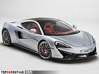 2017 McLaren 570GT = 328 kph, 570 bhp, 3.4 sec.