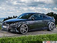 2015 Audi TTS Coupe ABT Sportsline = 280 kph, 400 bhp, 4.3 sec.