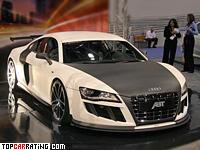 2010 Audi R8 ABT GT R = 325 kph, 620 bhp, 3.2 sec.