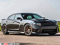 Dodge Charger Hellcat Hennessey HPE1000 Twin Turbo  RWD 2016