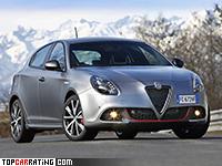 2016 Alfa Romeo Giulietta Veloce = 247 kph, 243 bhp, 6.3 sec.