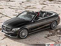 2017 Mercedes-AMG C 43 Cabriolet 4Matic  = 250 kph, 367 bhp, 4.8 sec.
