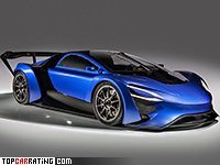 2016 TechRules AT96 TREV Concept = 350 kph, 1044 bhp, 2.5 sec.