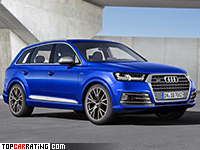 2017 Audi SQ7 TDI = 250 kph, 435 bhp, 4.7 sec.